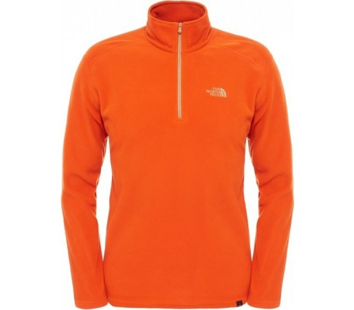 Polar The North Face M 100 Glacier 1/4 Zip Portocaliu