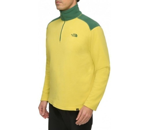 Bluza The North Face M 100 Glacier 1/4 Zip Galben
