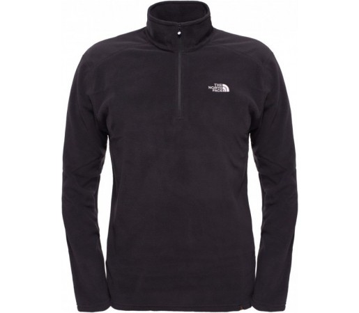 Polar The North Face M 100 Glacier 1/4 Zip Negru