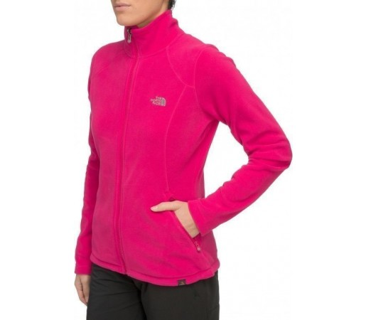 Bluza The North Face W 100 Glacier FZ Roz