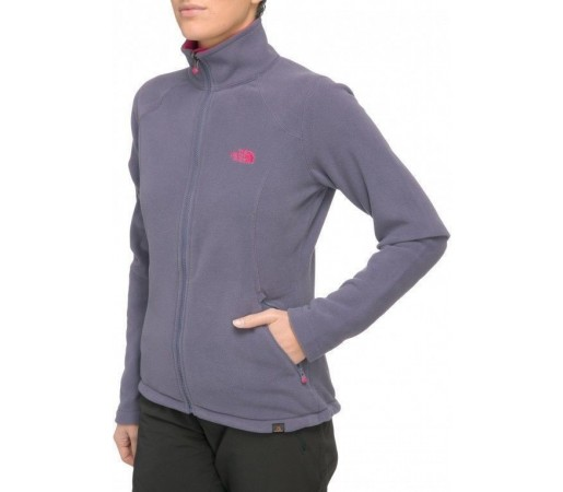 Bluza The North Face W 100 Glacier FZ Gri