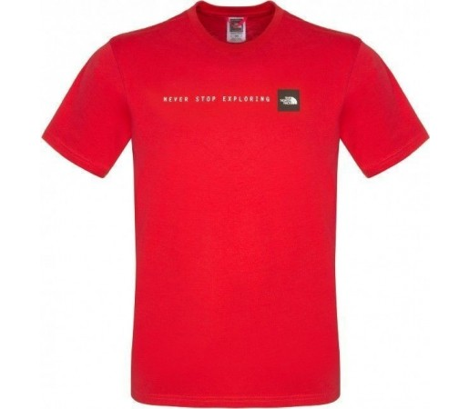 Tricou The North Face M NSE Salsa Red