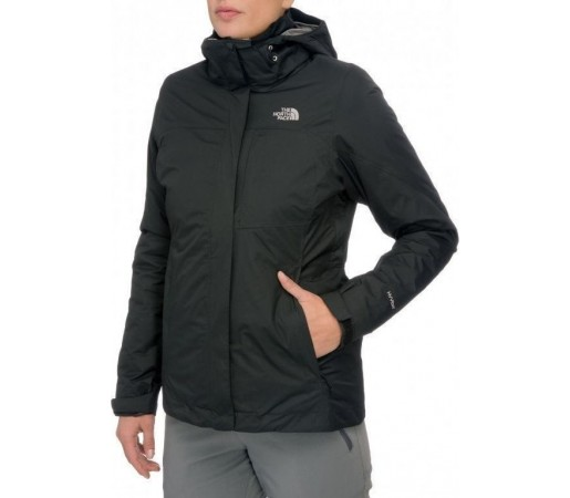 Geaca The North Face W Solaris Triclimate Negru