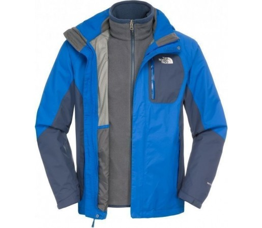 Geaca The North Face M Zenith Triclimate Albastru