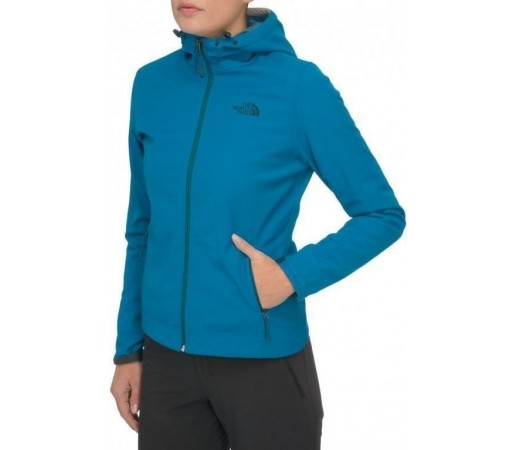 Bluza The North Face W Durango Hoodie Albastru