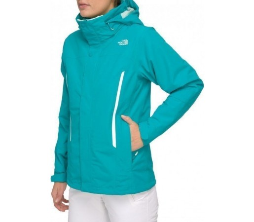 Geaca The North Face W Kardiak Triclimate Turcoaz