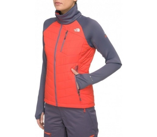 Geaca The North Face W Hybrid Pemby Portocaliu/Gri