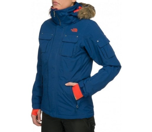 Geaca The North Face W Baker Albastru
