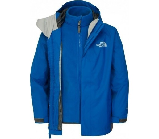 Geaca The North Face B Evolution Triclimate Blue