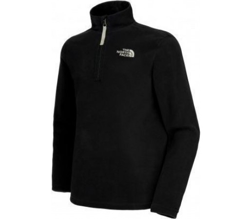 Polar The North Face Y Glacier 1/4 Zip Black