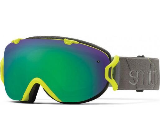 Ochelari Schi si Snowboard Smith I/OS Acid Prism / Green Sol-X mirror
