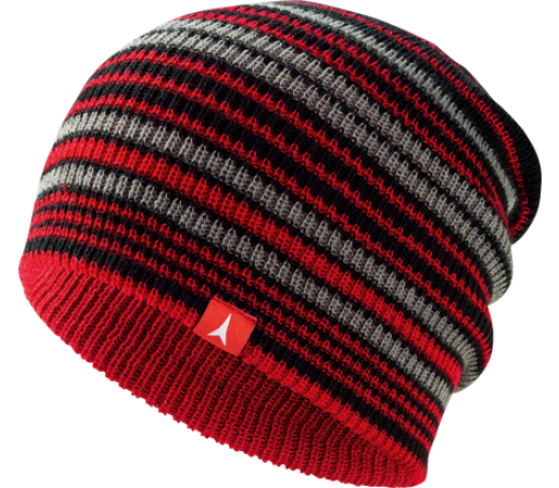 Caciula Atomic AMT Reversible Slouch Red/Black