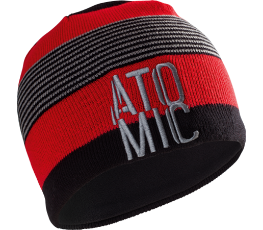 Caciula Atomic AMT Stacked Red/Black