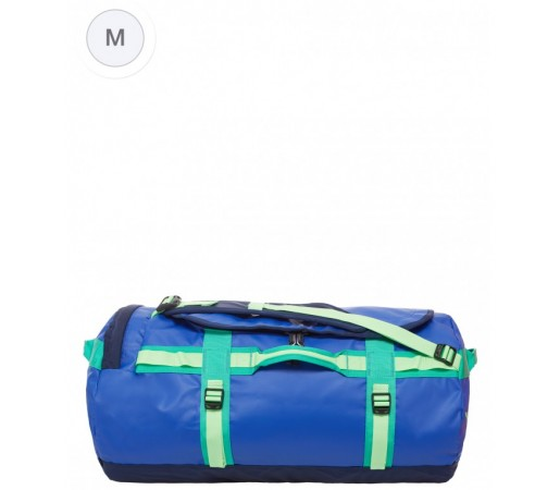 Geanta The North Face Base Camp S Albastra/Verde