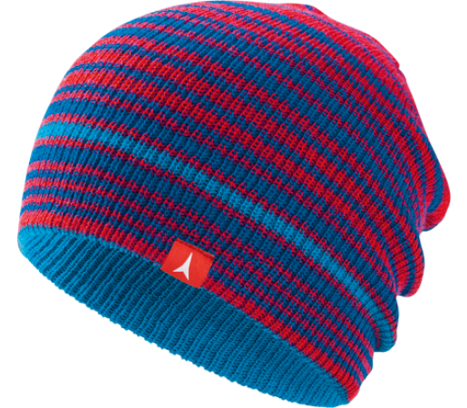 Caciula Atomic AMT Reversible Slouch Blue/Red