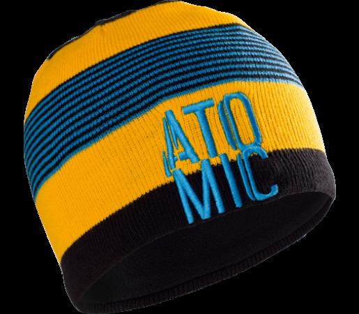 Caciula Atomic AMT Stacked Yellow/Black