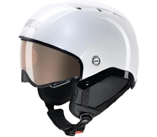 Casca Schi si Snowboard Uvex Aosta Vario WL Alba