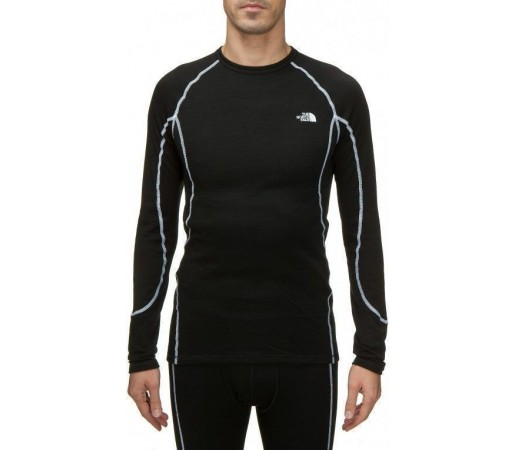 Bluza de corp The North Face M's Warm Merino LS Negru 2013