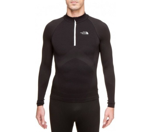 Bluza de corp The North Face M's Hybrid Merino LS ZN Negru 2013