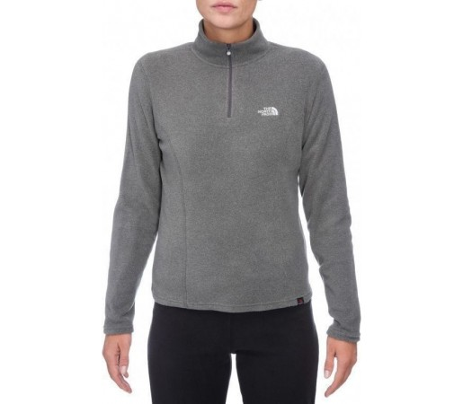 Bluza The North Face W's 100 Glacier 1/4 Gri 2013