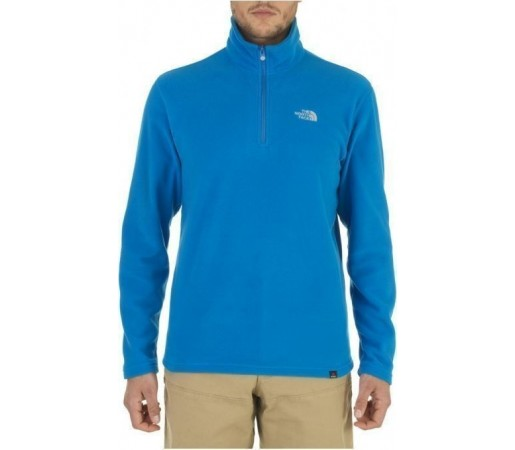 Bluza The North Face M's 100 Glacier 1/4 Albastru 2013