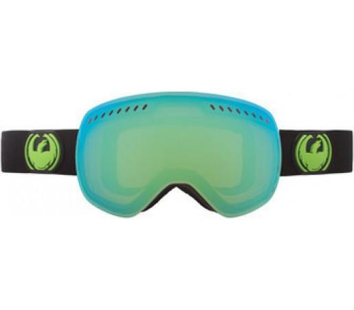 Ochelari Schi si Snowboard Dragon APXS Jet Negru/ Green Ion + Yellow Blue Ion