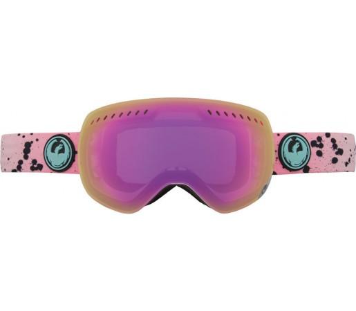 Ochelari Schi si Snowboard Dragon APXS Splatt Roz / Pink Ion + Ionized