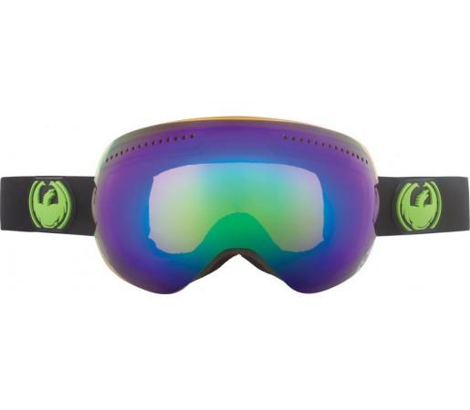 Ochelari Schi si Snowboard Dragon APX Jet Negru/ Green Ion + Yellow Blue Ion