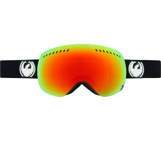 Ochelari Schi si Snowboard Dragon APXS Coal Negru/ Red Ion