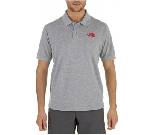 Tricou The North Face Polo Piquet M Heather Grey 2013