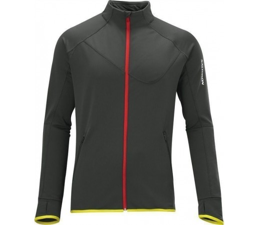 Bluza Salomon Swift FZ Midlayer M Asphalt 2013