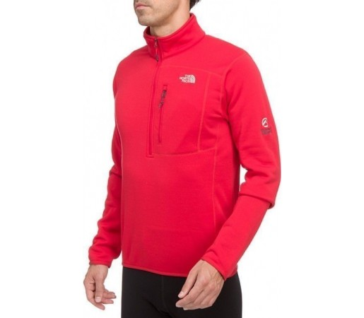 Bluza The North Face M's Flux PS 1/4 Rosu 2013