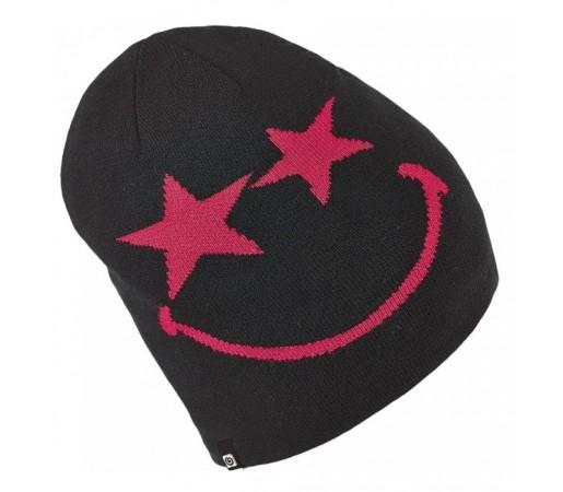 Caciula Brekka B-Smiley Neagra/Roz