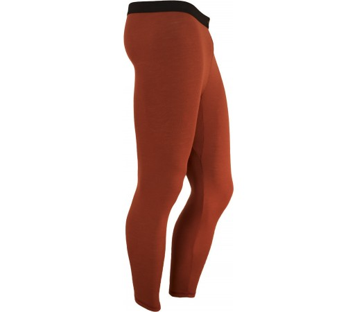 Pantaloni First Layer Merinito Lungi Portocaliu