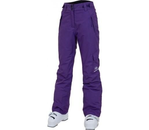 Pantaloni Schi si Snowboard Rossignol Girl Cargo Purple