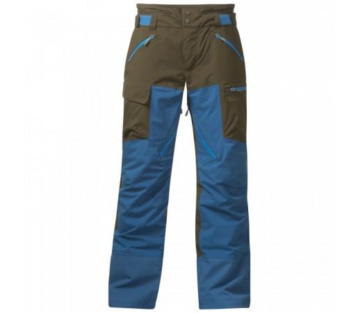 Pantaloni de schi si snowboard Bergans Hafslo Insulated Kaki