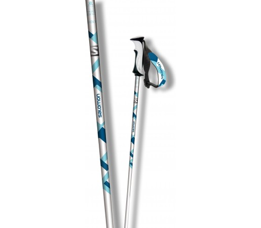 Bete Ski Salomon Shiva White- Blue