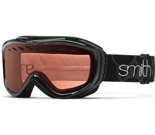 Ochelari Schi si Snowboard Smith TRANSIT PRO Black/RC 36 Rose Copper