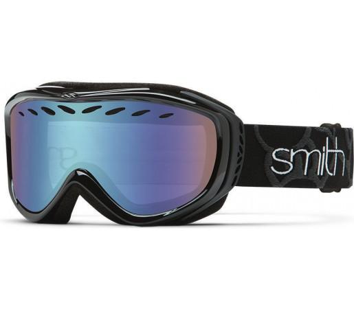 Ochelari Schi si Snowboard Smith TRANSIT PRO Black/ Blue Sensor mirror