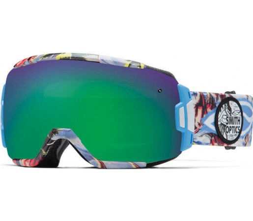 Ochelari Schi si Snowboard Smith VICE Blue Burnout / Green Sol-X mirror
