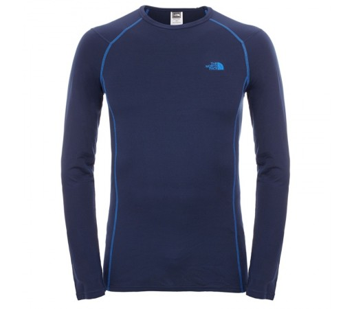Bluza First Layer The North Face M Warm LS Crew Neck Albastra