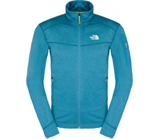 Polar The North Face M Hadoken Full Zip Blue