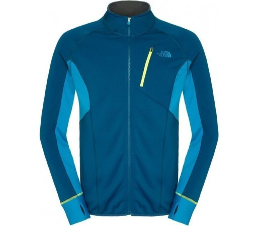Mid Layer The North Face M Krypton Full Zip Blue