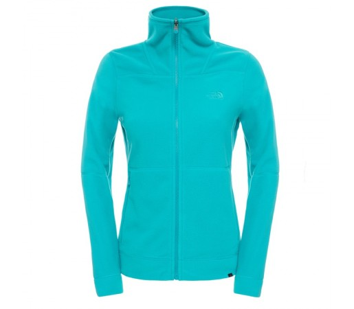 Polar The North Face W 200 Shadow Full Zip Verde