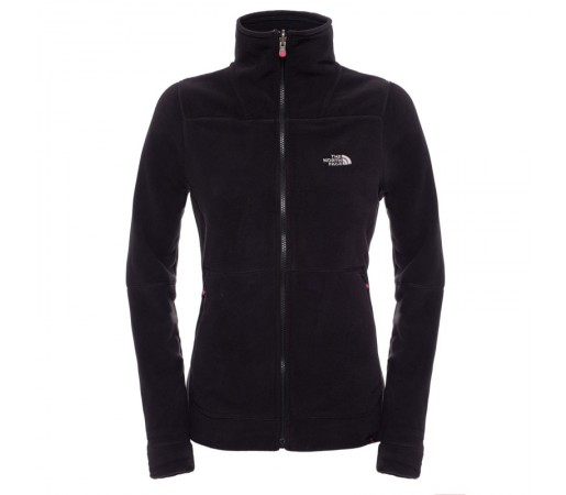Polar The North Face W 200 Shadow Full Zip Negru