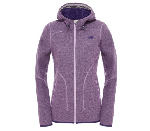 Bluza The North Face W Zermatt Full Zip Hoodie Mov