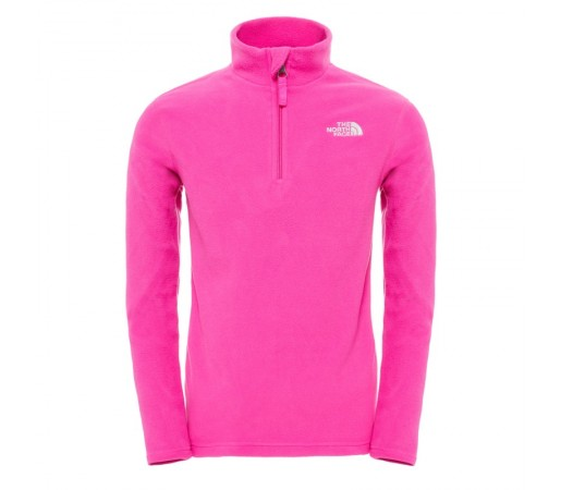 Polar The North Face Y Glacier 1/4 Zip Roz