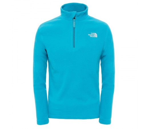 Polar The North Face Y Glacier 1/4 Zip Albastru
