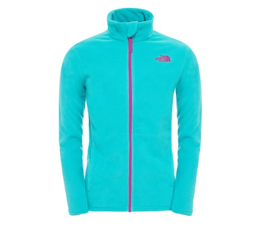 Polar The North Face Y Snow Quest Full Zip Verde