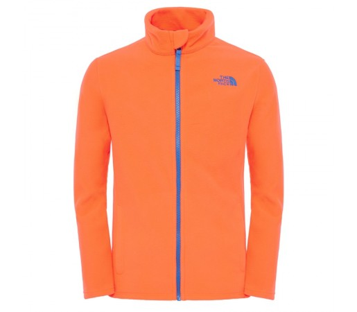 Polar The North Face Y Snow Quest Full Zip Portocaliu